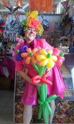 Цветы и букеты из воздушных шаров